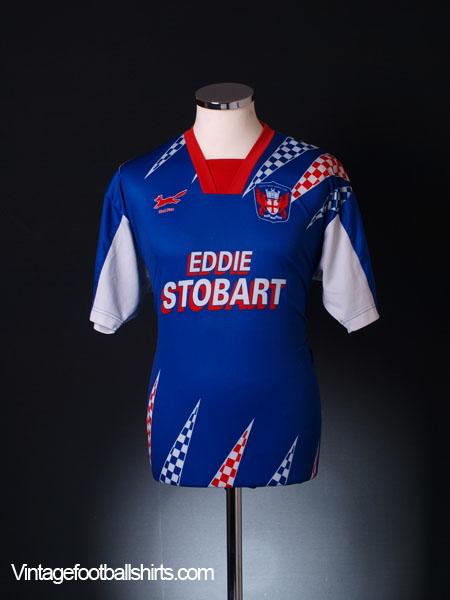 1995-97 Carlisle Home Shirt L