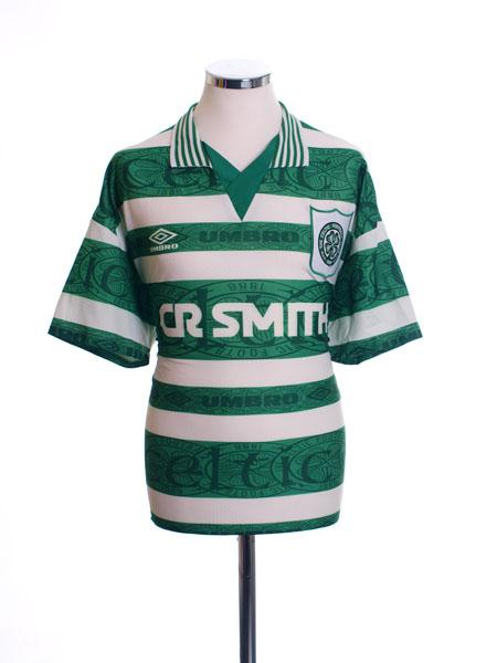 1995-97 Celtic Home Shirt XL