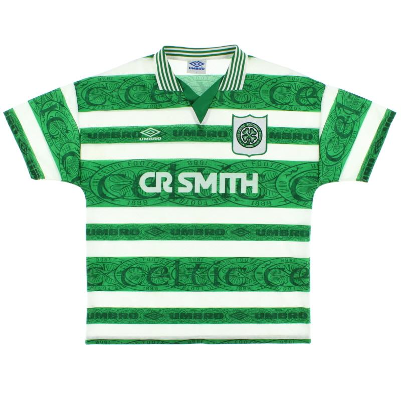 1995-97 Celtic Home Shirt L