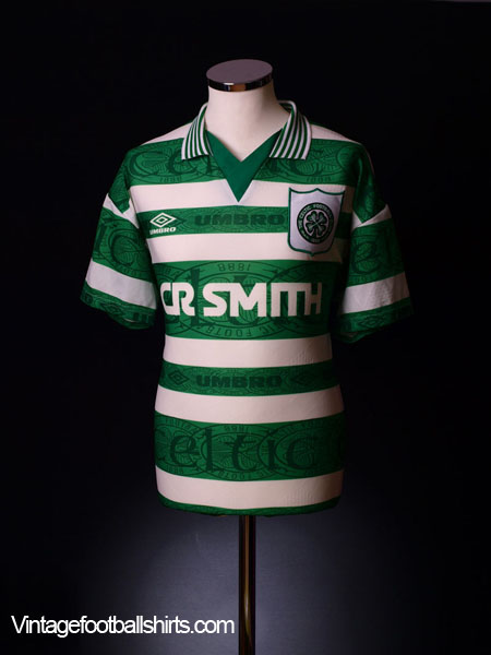 1995-97 Celtic Home Shirt L