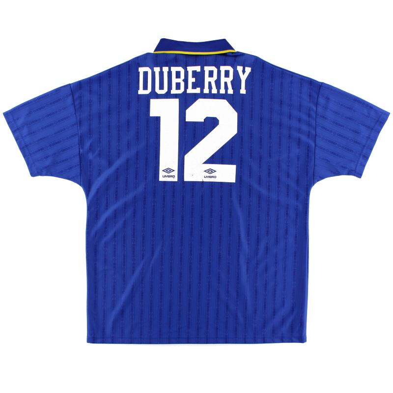 1995-97 Chelsea Home Shirt Duberry #12 XL