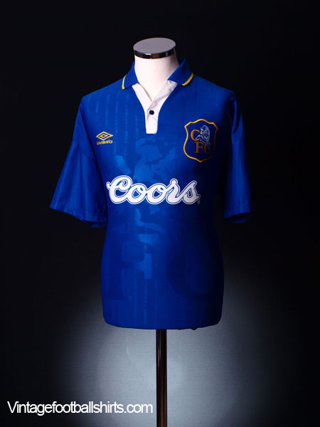 1995-97 Chelsea Home Shirt L.Boys