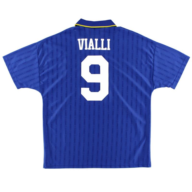 1995-97 Chelsea Home Shirt Vialli #9 XL