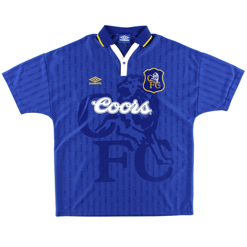 1995-97 Chelsea Umbro Home Shirt L