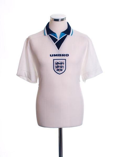 1995-97 England Home Shirt L