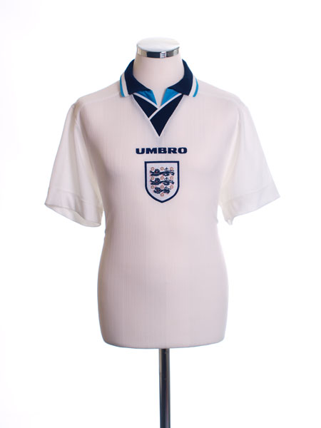 1995-97 England Home Shirt L