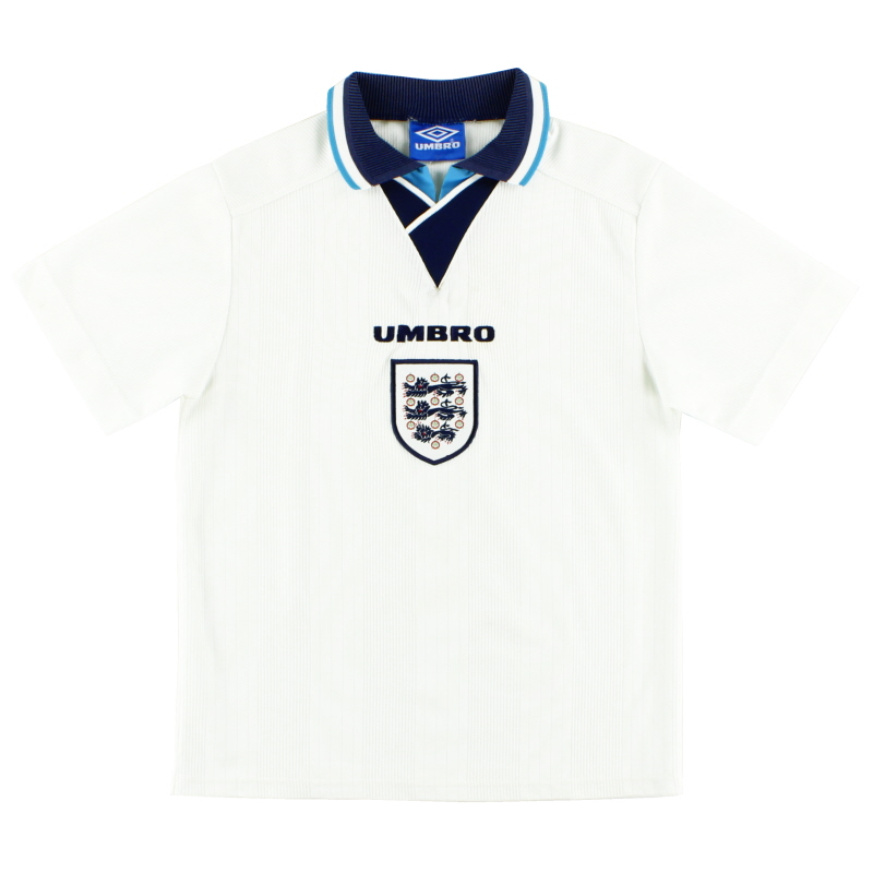 1995-97 England Umbro Home Shirt XL