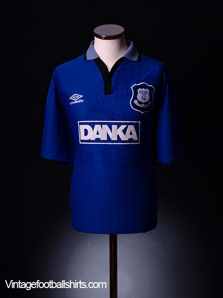 1995-97 Everton Home Shirt Y