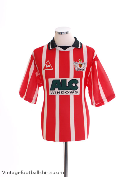 1995-97 Exeter Home Shirt L