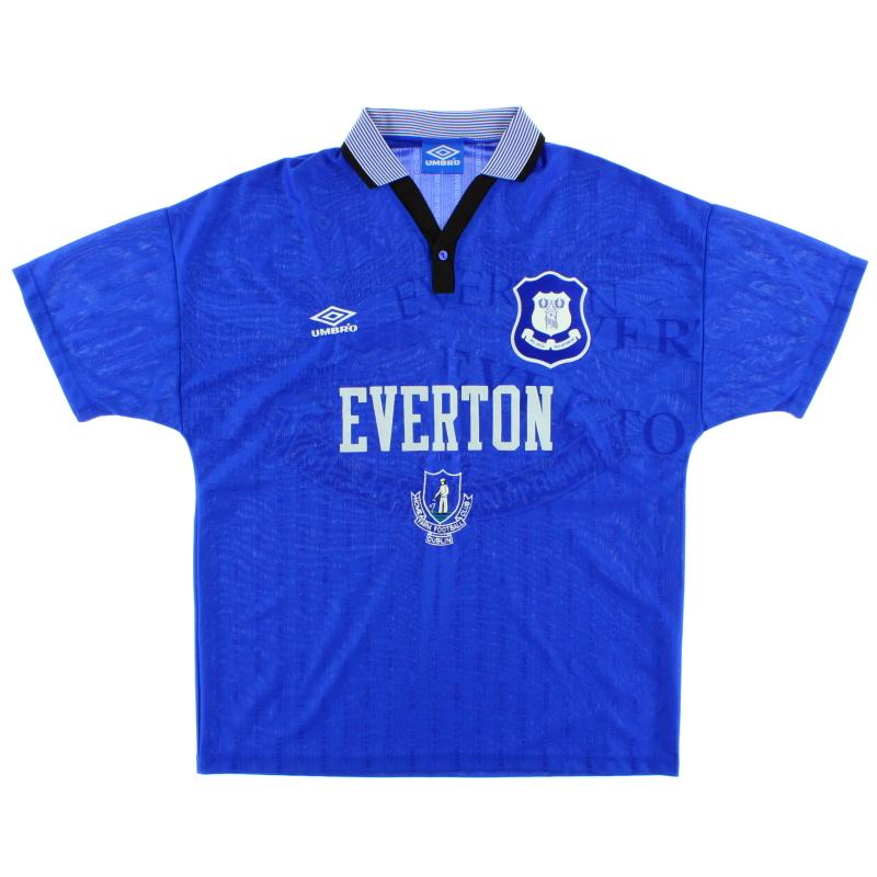 1995-97 Home Farm Everton Home Shirt *Mint* L