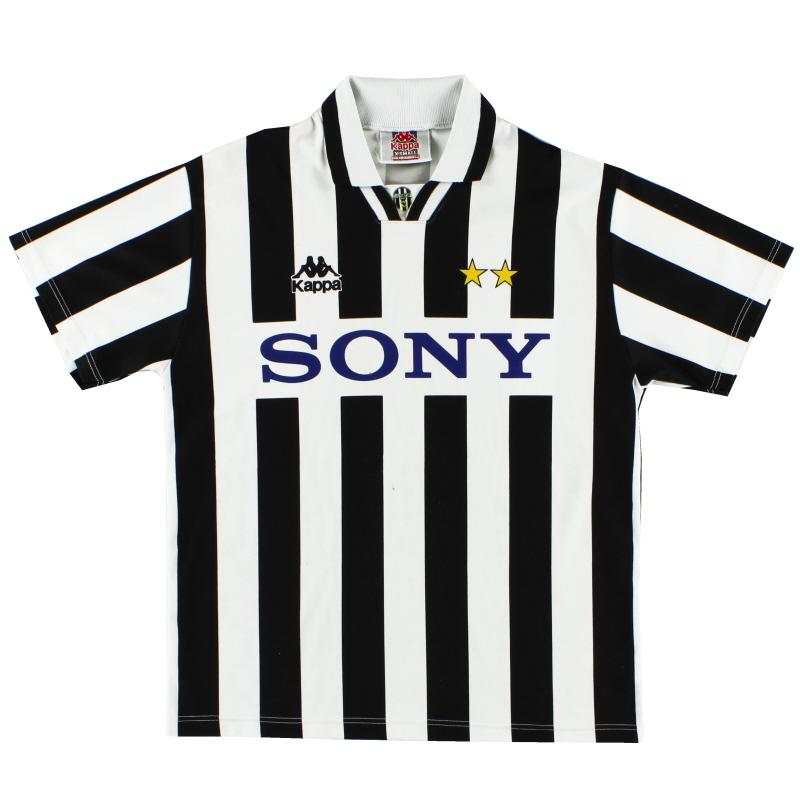 1995-97 Juventus Basic Home Shirt S