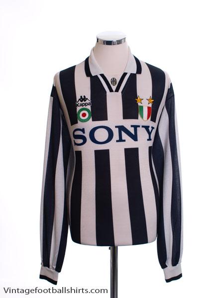 1995-97 Juventus Home Shirt L/S XL