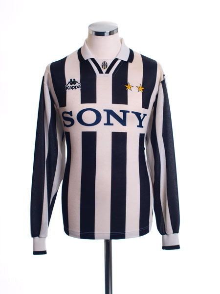 1995-97 Juventus Home Shirt L/S XL