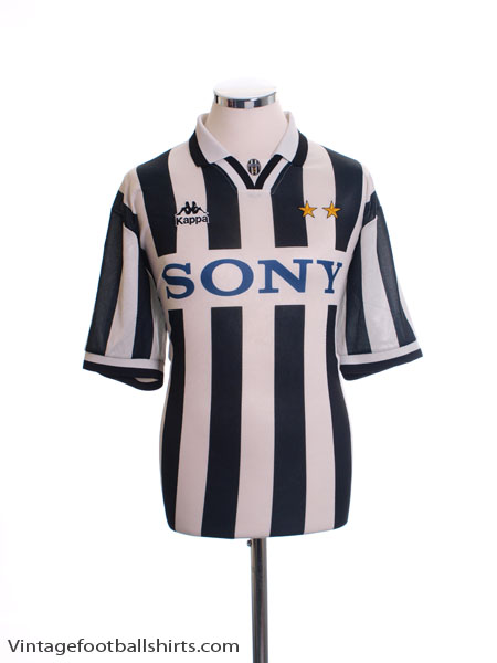 1995-97 Juventus Home Shirt M