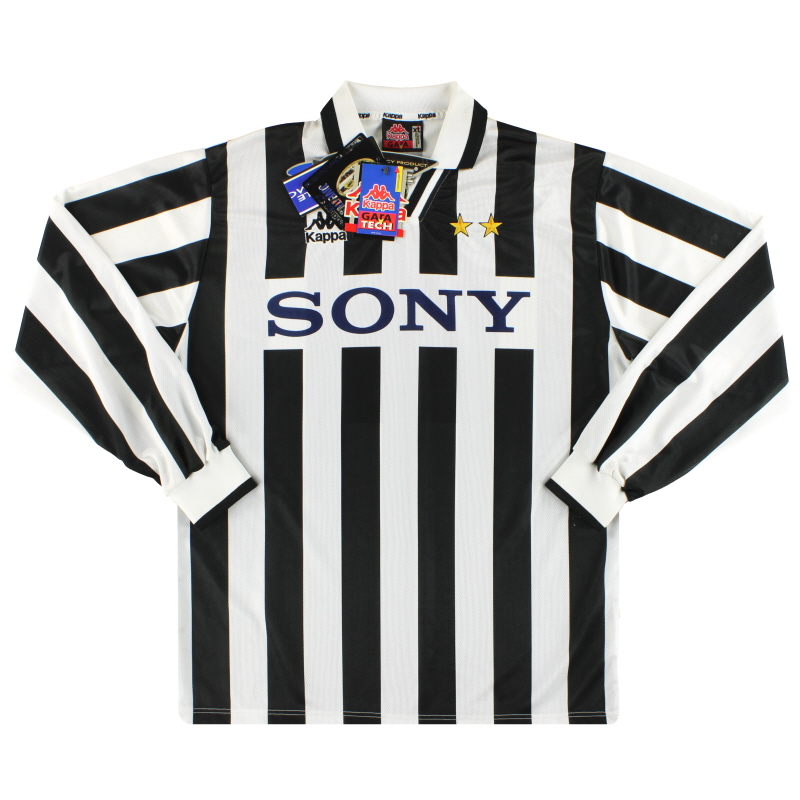 1995-97 Juventus Kappa Home Shirt L/S #9 *w/tags* XL - 497447