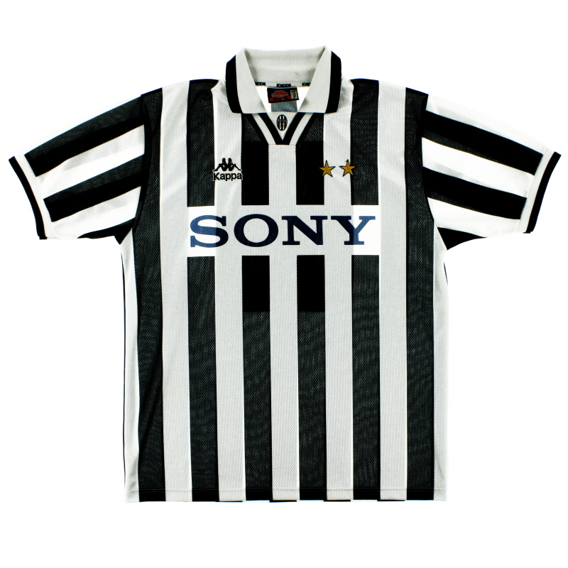 1995-97 Juventus Home Shirt *Mint* XL