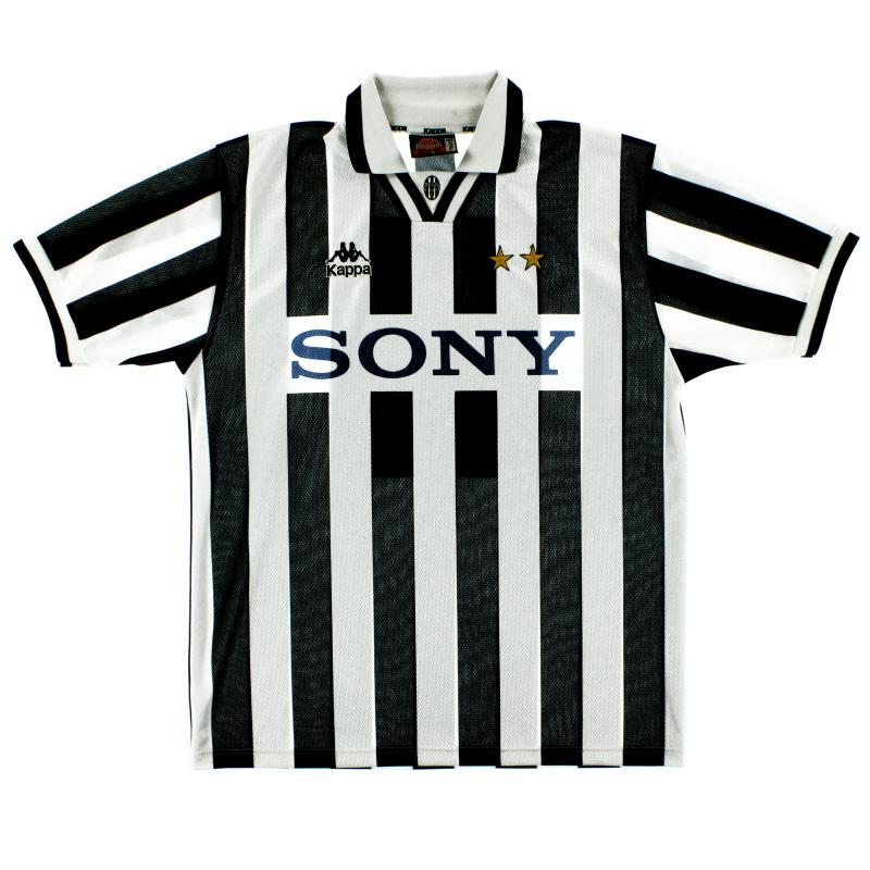 1995-97 Juventus Home Shirt L