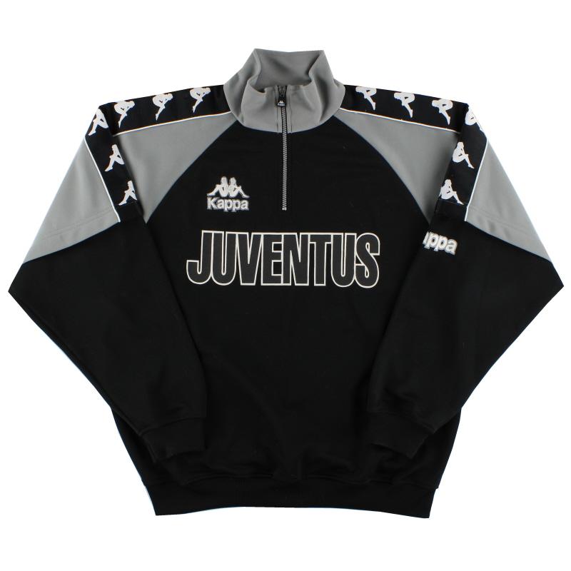 1995-97 Juventus Kappa 1/2 Zip Training Top XL