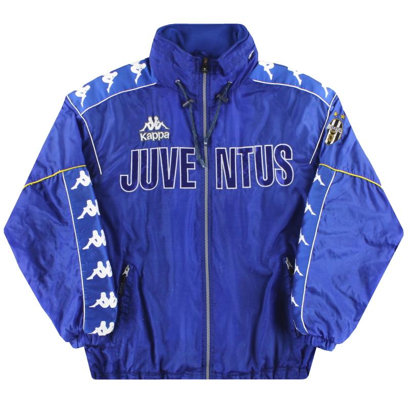1995-97 Juventus Kappa Hooded Rain Coat M