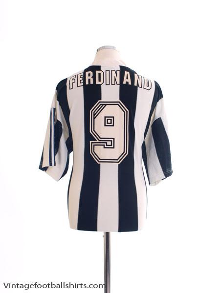 1995-97 Newcastle Home Shirt Ferdinand #9 XL