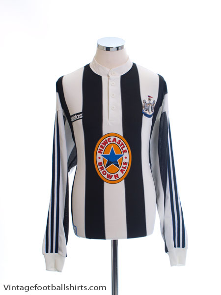 1995-97 Newcastle Home Shirt L/S XL