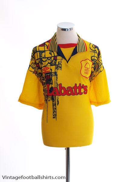 1995-97 Nottingham Forest Away Shirt *BNIB* XL