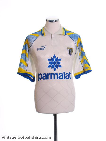 1995-97 Parma Home Shirt #10 XL