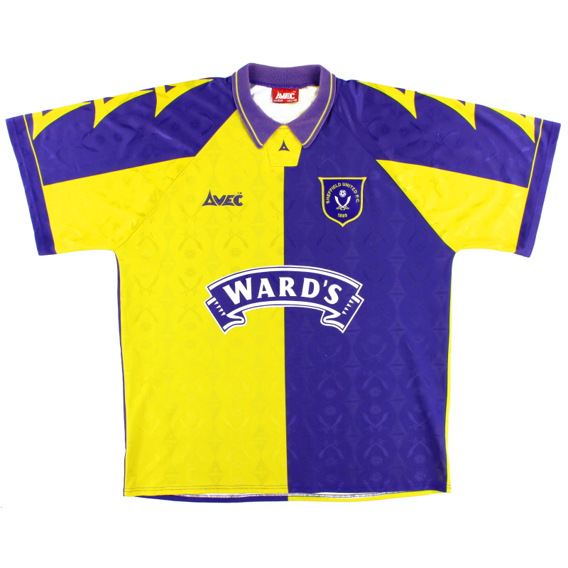 1995-97 Sheffield United Away Shirt Y