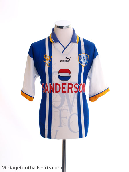 1995-97 Sheffield Wednesday Home Shirt L