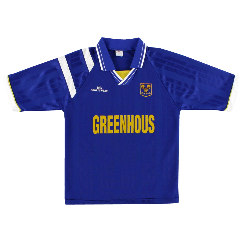 1995-97 Shrewsbury MG Sportswear Home Shirt S