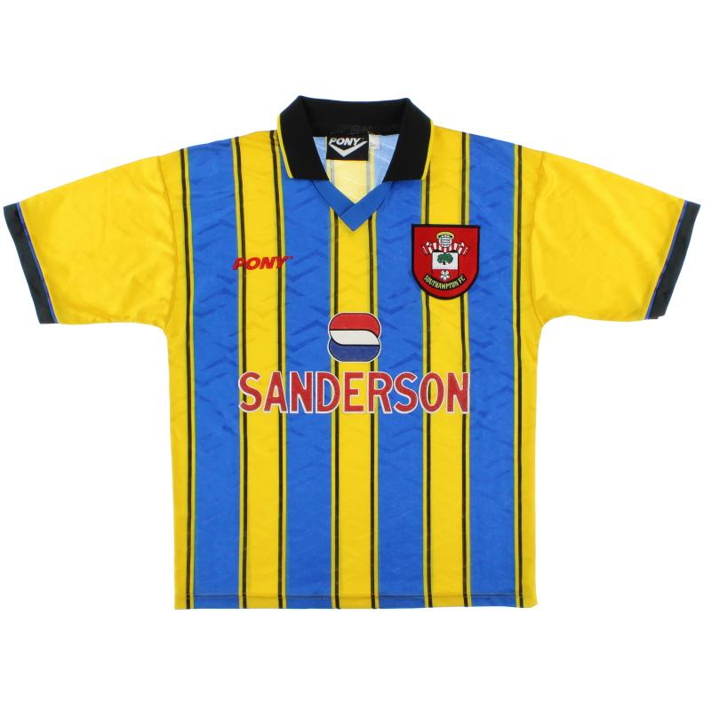 1995-97 Southampton Pony Away Shirt *Mint* L