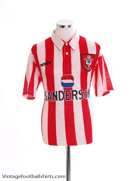 1995-97 Southampton Home Shirt M