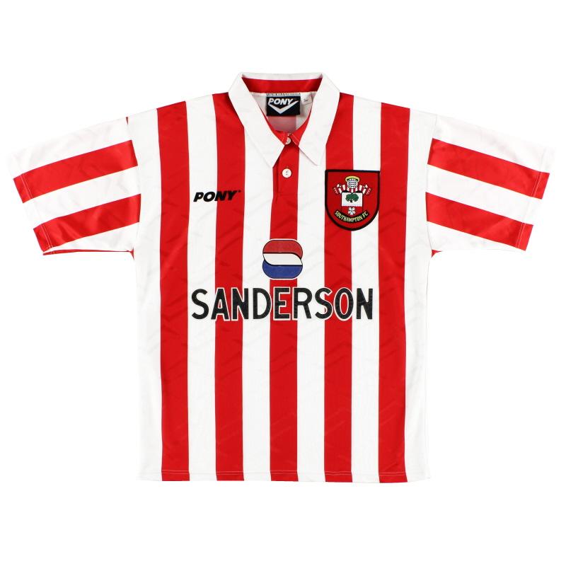 1995-97 Southampton Home Shirt S