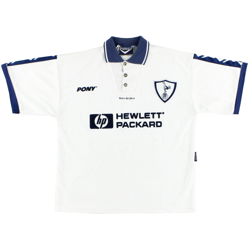 1995-97 Tottenham Home Shirt L