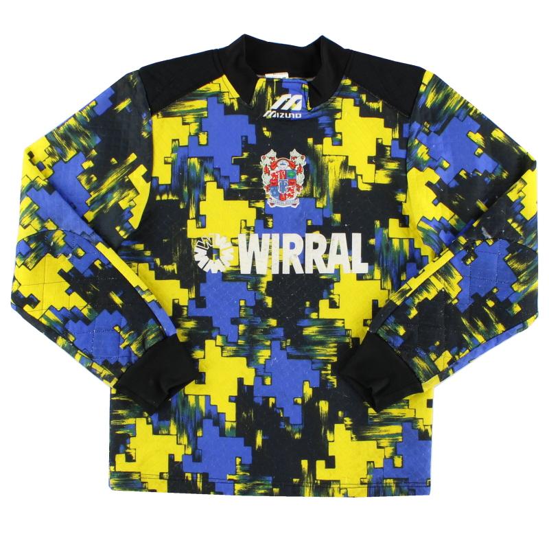 1995-97 Tranmere Rovers Mizuno Goalkeeper Shirt L.Boys
