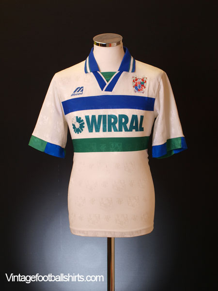 1995-97 Tranmere Rovers Home Shirt M