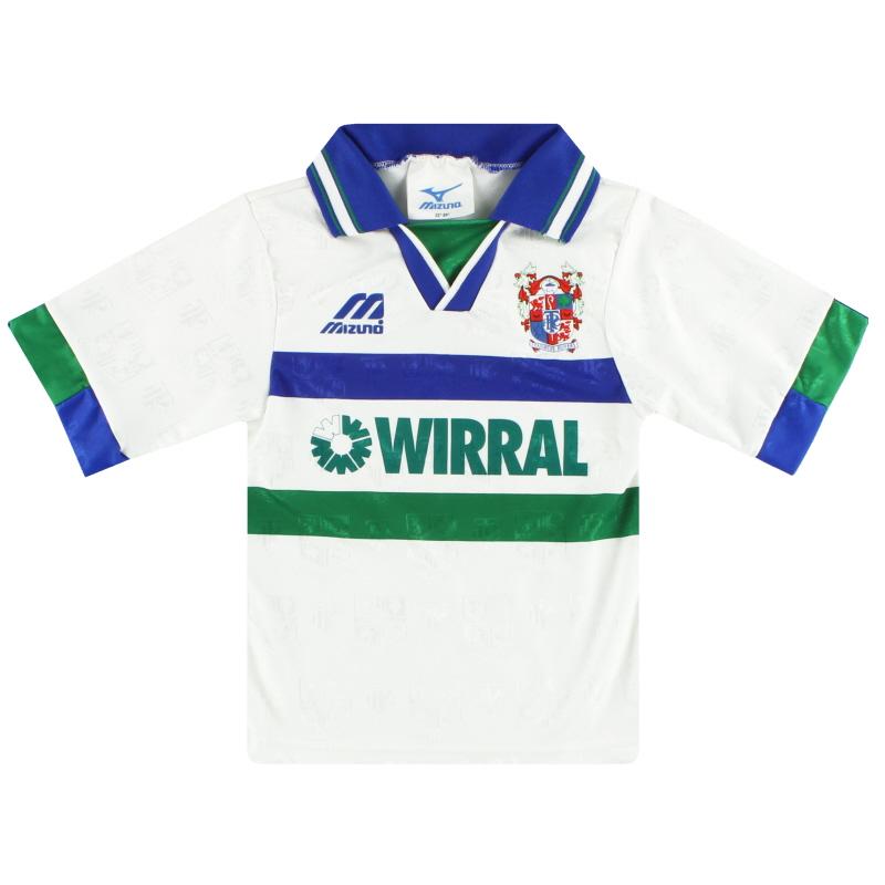 1995-97 Tranmere Rovers Home Shirt XXS.Boys