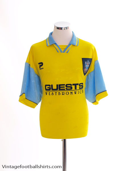 1995-97 West Bromwich Albion Away Shirt *Mint* L
