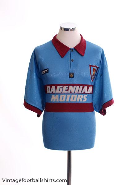 1995-97 West Ham Away Shirt XL