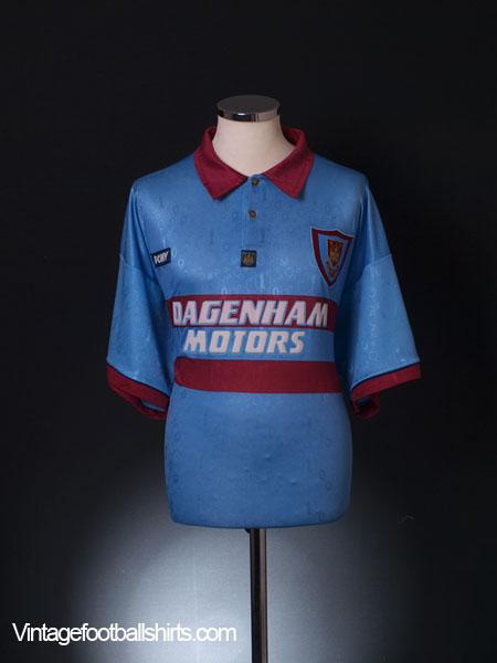 1995-97 West Ham Centenary Away Shirt XL