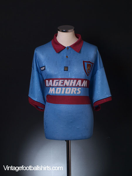 1995-97 West Ham Centenary Away Shirt M