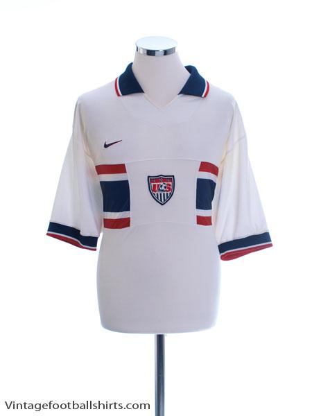1995-98 USA Home Shirt L