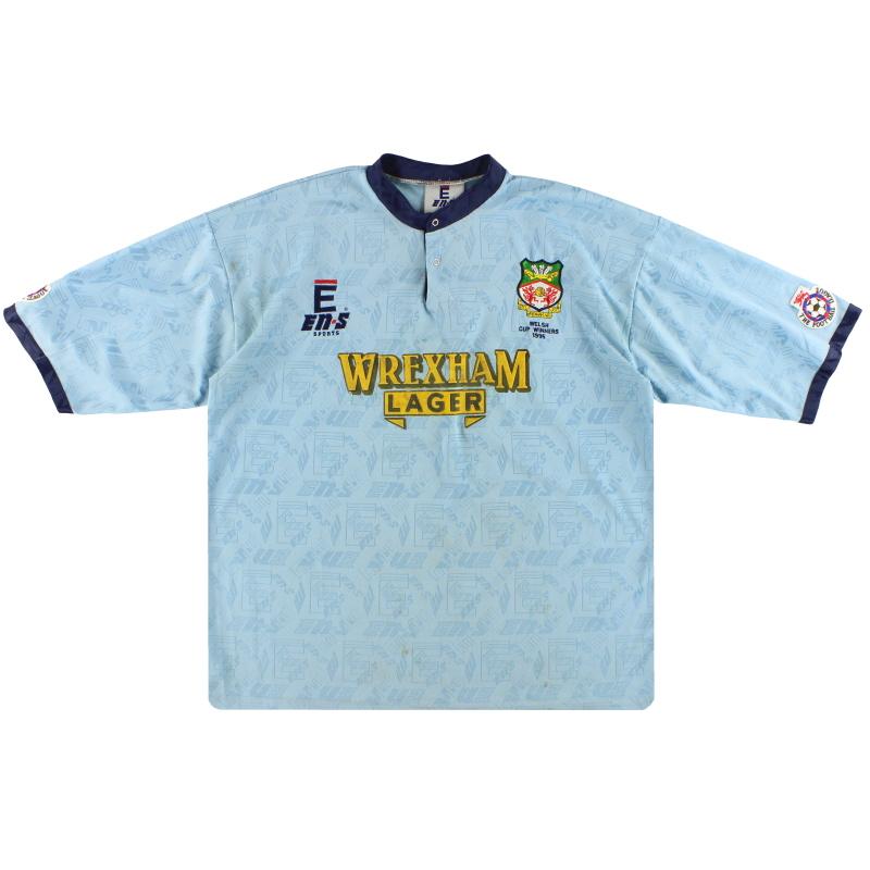 1995 Wrexham En-S 'Welsh Cup Winners' Third Shirt L