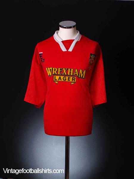 1995 Wrexham 'Welsh Cup Winners' Home Shirt XXL