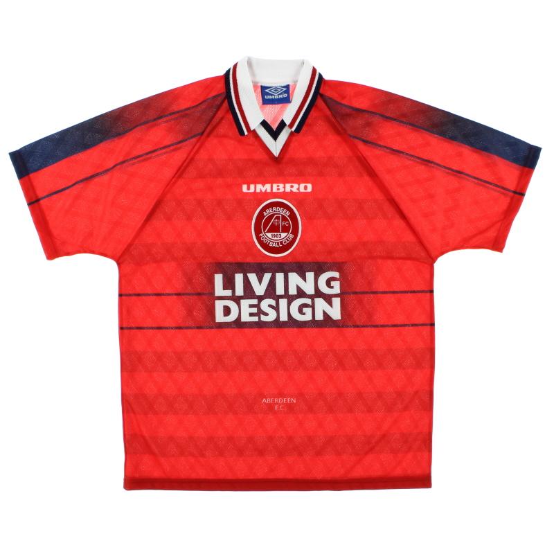 1996-97 Aberdeen Home Shirt *BNIB* L