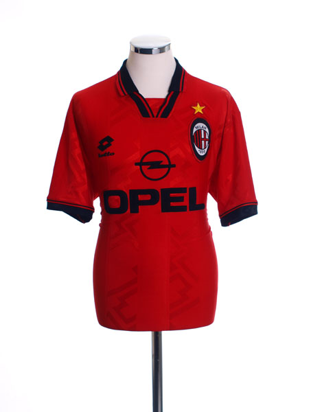 1996-97 AC Milan Fourth Shirt #8 L
