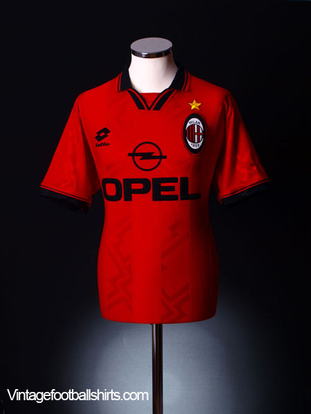 1996-97 AC Milan Fourth Shirt XXL