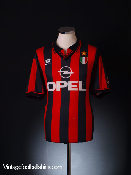 1996-97 AC Milan Home Shirt XL
