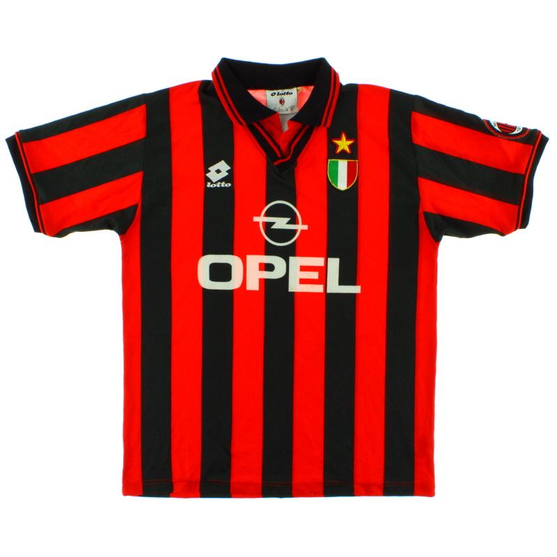 1996-97 AC Milan Home Shirt M