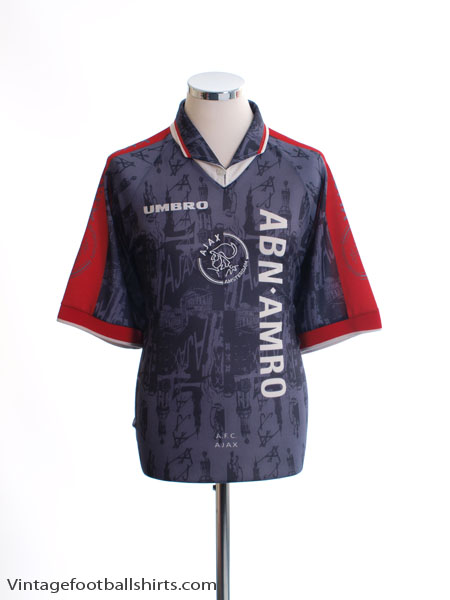 1996-97 Ajax Away Shirt XL